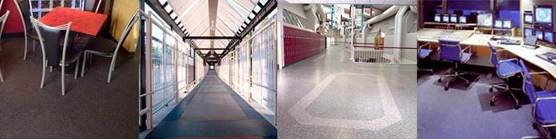 UltraDuty II Rubber ESD Flooring made from recycled tires