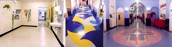 PolyStat Vinyl ESD Tile - Ideal for medical facilities, clean rooms, laboratories, and surgery rooms.